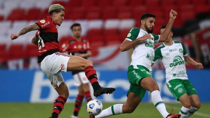 Ignácio, Pedro Flamengo Chapecoense Cuiabá Brasileirão