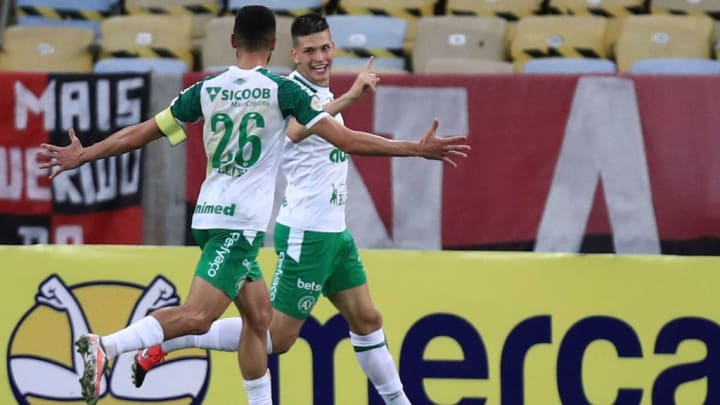 Perotti Chapecoense Santos Brasileirão
