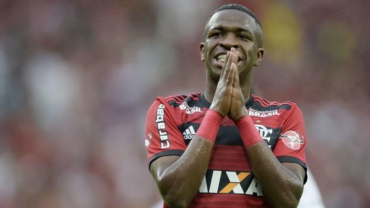 Vinicius Junior Real Madrid Flamengo