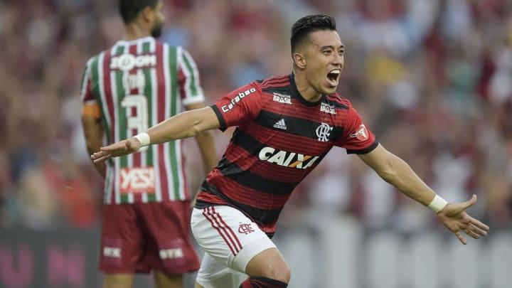 Flamengo Santos Fernando Uribe