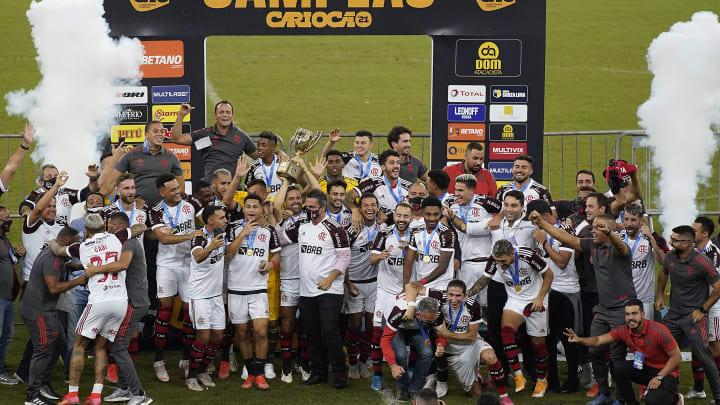 O Flamengo conquistou o seu sexto tricampeonato no Campeonato Carioca de 2021.