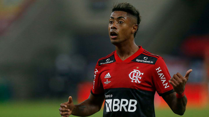 Copa Brasil Flamengo Coritiba Bruno Henrique