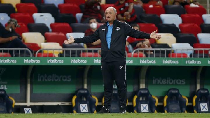 Felipão comanda o Tricolor novamente diante do Flamengo
