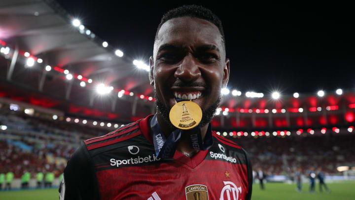 O Barcelona teria um acordo para pagar 25 milhões de euros por Gerson, do Flamengo.