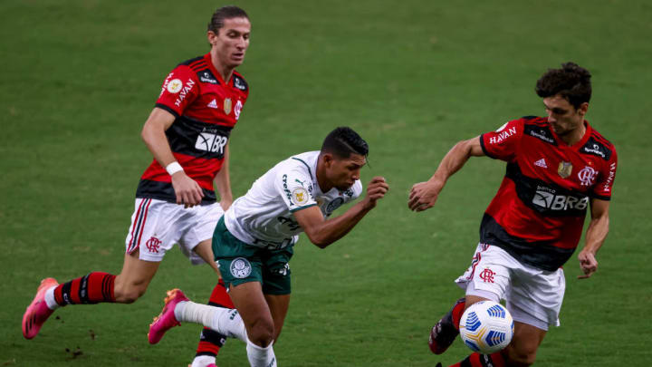 Filipe Luís, Rony, Rodrigo Caio Flamengo América-MG Brasileirão