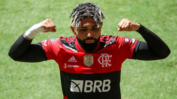 O Flamengo goleou o Volta Redonda por 4 a 1 (7 a 1 no agregado) na semifinal do Campeonato Carioca de 2021.