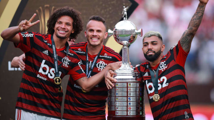 William Arao, Rene, Gabriel Barbosa