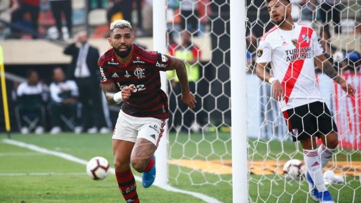 Gabigol Flamengo River final Libertadores