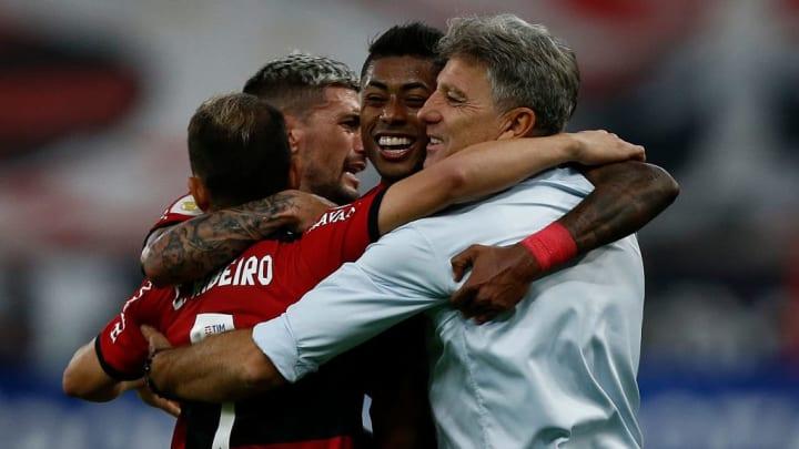 Bruno Henrique, Renato Gaucho Flamengo Copa Brasil