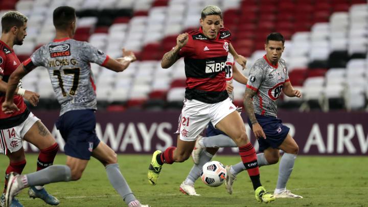 O Flamengo goleou o La Calera por 4 a 1, no Maracanã, pela 2ª rodada do Grupo G da Libertadores.