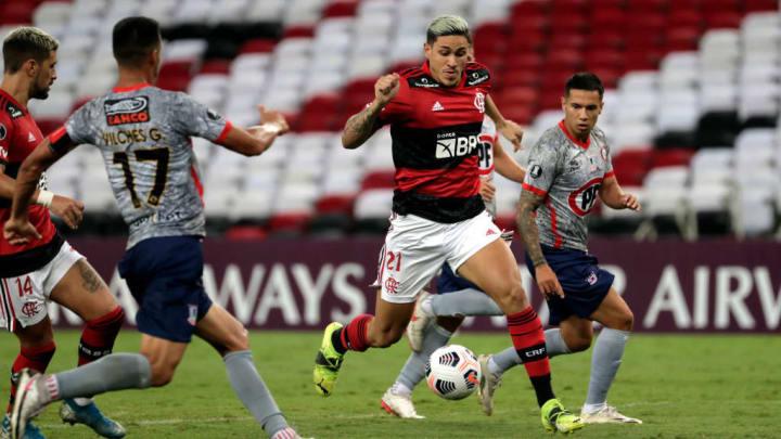 Pedro Flamengo La Calera Libertadores