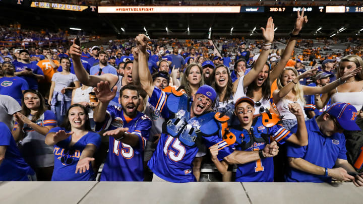 Florida president Kent Fuchs says the 'Gator Bait' chant will be discontinued.