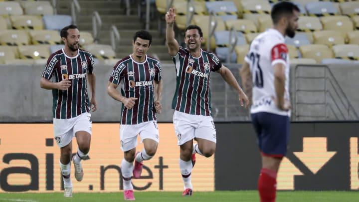 Fluminense garantiu a última vaga para as quartas da Libertadores