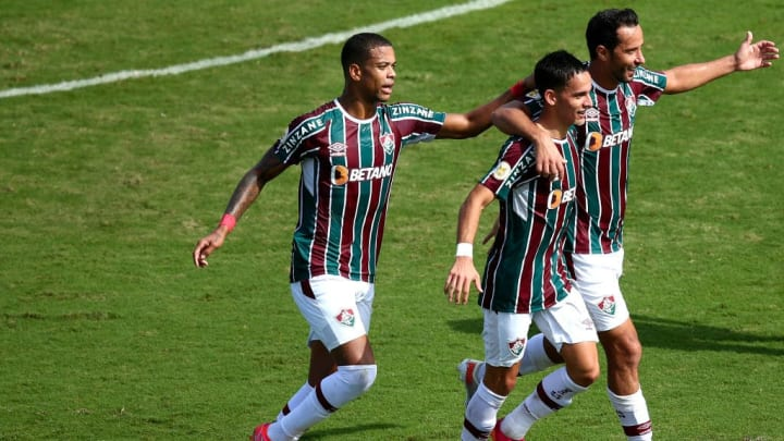 Gabriel Teixeira Fluminense Corinthians Brasileirão