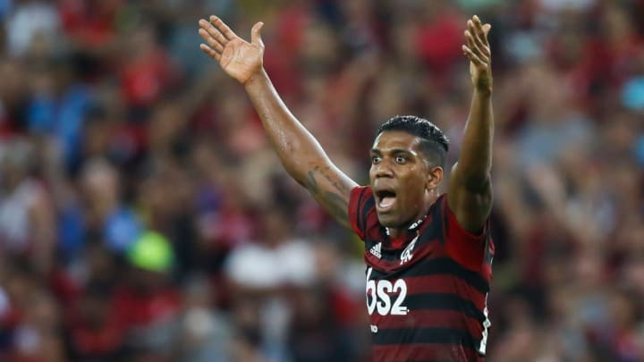 Orlando Berrío Flamengo