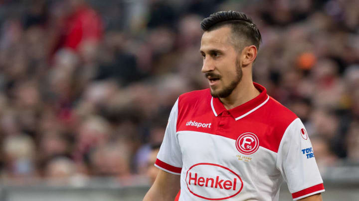 Für Düsseldorf absolvierte Skrzbyski elf Einsätze in der Rückrunde