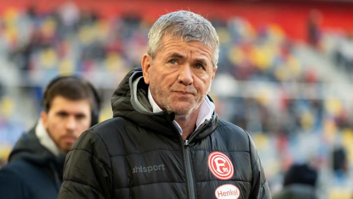 Für ihn sind sowohl der HSV als auch die Fortuna erste Kandidaten für den Aufstieg: Friedhelm Funkel