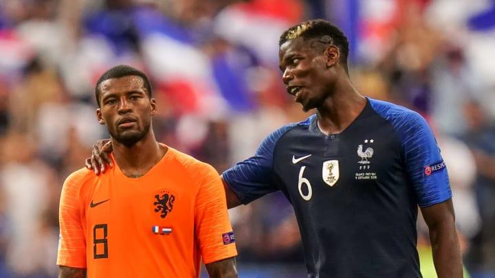 Georginio Wijnaldum says he'd love for PSG to sign Paul Pogba