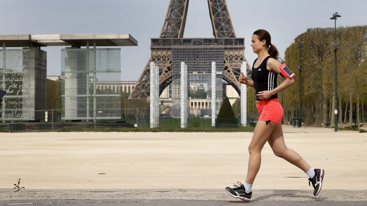 France Remains On Lockdown Due To Coronavirus As Infection Rate Appears To Slow