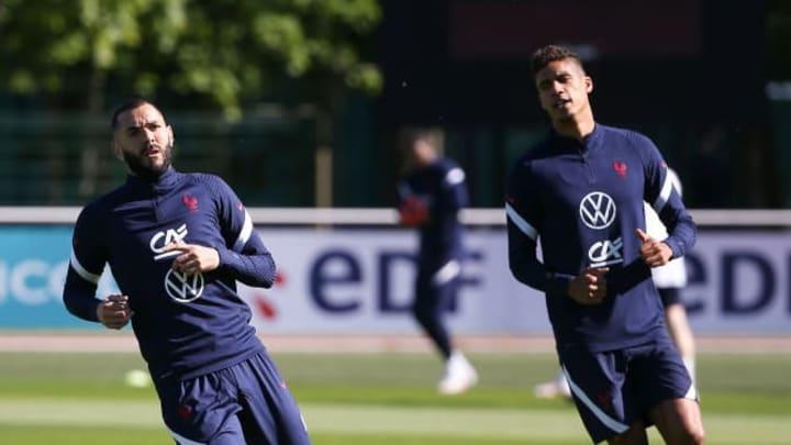 Karim Benzema, Raphael Varane
