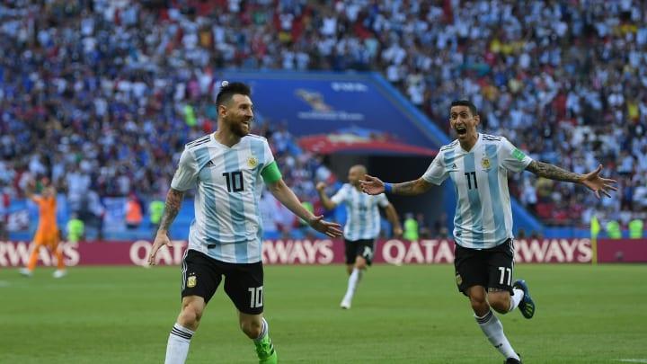 Lionel Messi, Angel Di Maria