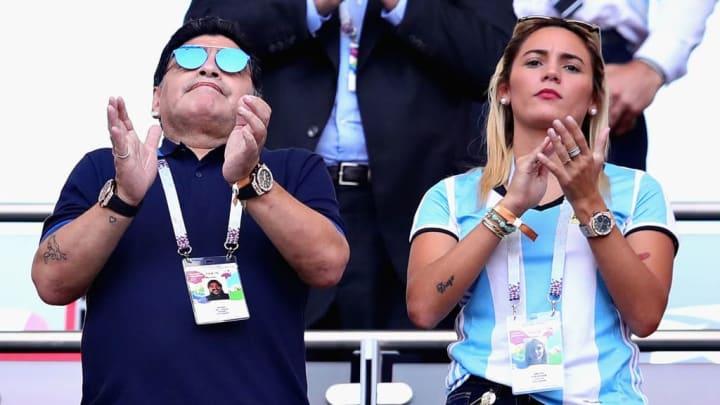 Diego Maradona, Rocio Oliva