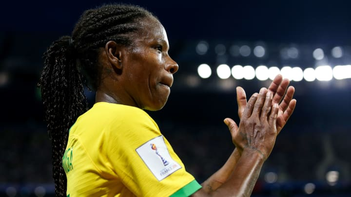Formiga participou de todas as Olímpiadas desde 1996 – ano em que o futebol feminino apareceu como uma modalidade nos Jogos Olímpicos.