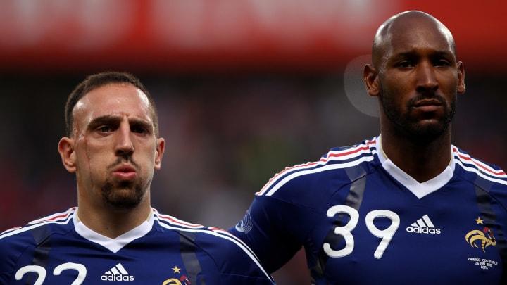 Franck Ribery, Nicolas Anelka