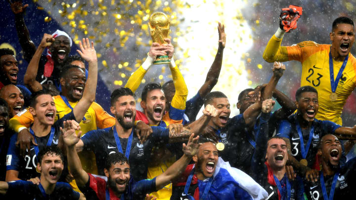 The odds to win the 2022 World Cup in Qatar by team favor Brazil over France in early stage.