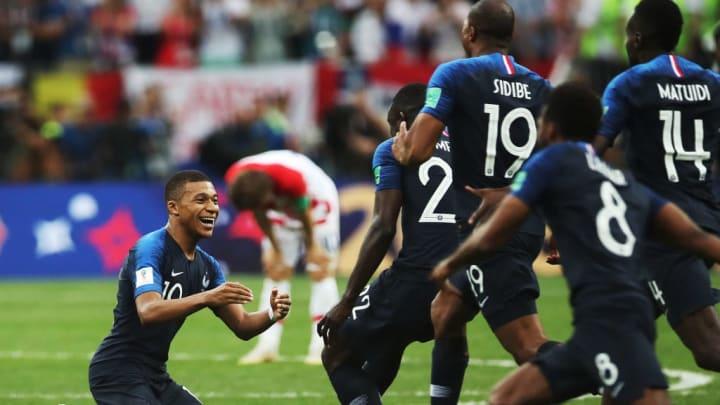 In diesem Moment hatte Frankreich den Traum der Kroaten zerstört...