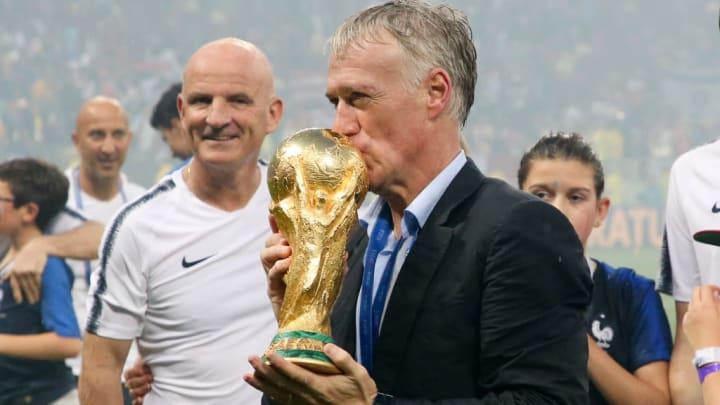 Didier Deschamps a remporté la Coupe du Monde en 2018.
