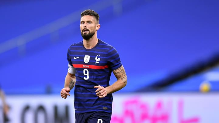 Giroud started the shock defeat to Finland recently