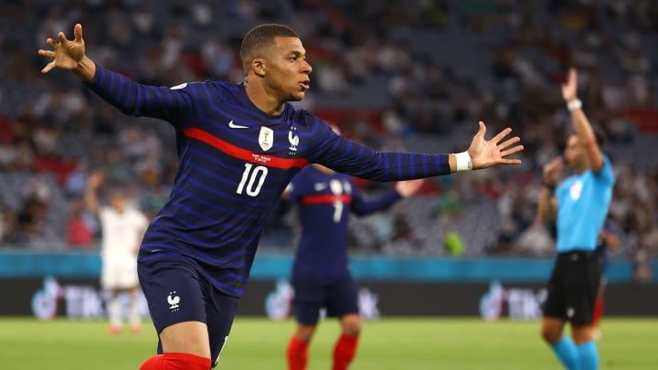 Kylian Mbappé a bien cru marquer un but somptueux face à l'Allemagne.