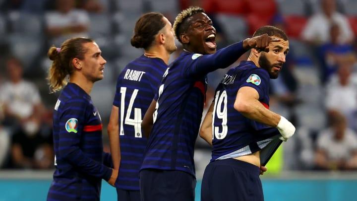 Paul Pogba et les Bleus ont impressionné face à l'Allemagne.