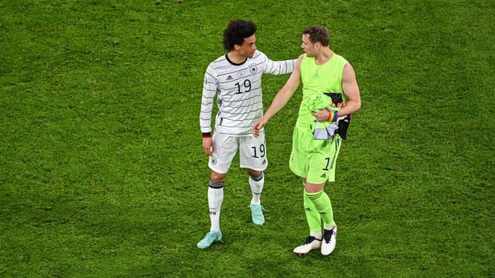 Leroy Sane, Manuel Neuer