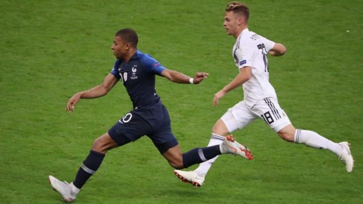 Kylian Mbappe França Alemanha Eurocopa Joshua Kimmich