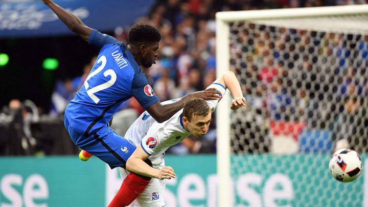 Im Viertelfinale gegen Frankreich musste auch Bödvarsson in die Knie gehen und sich geschlagen geben