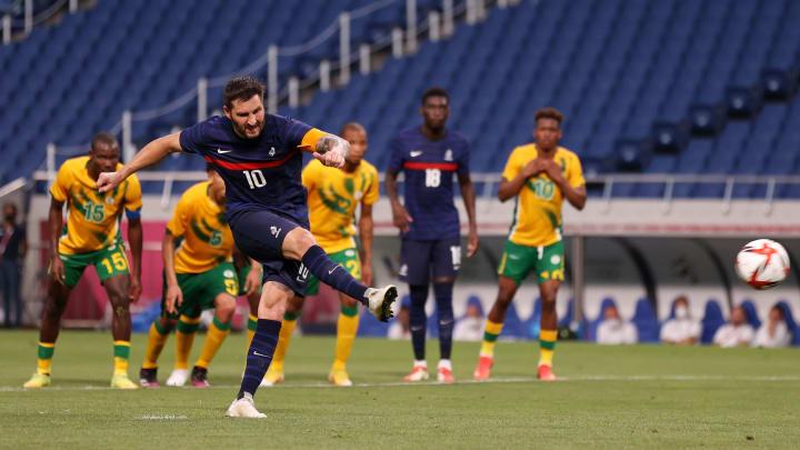 Gignac buteur sur penalty contre l'Afrique du Sud