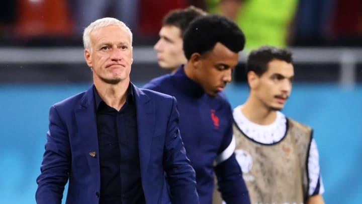 Didier Deschamps n'a pas convaincu par ses choix tactiques contre la Suisse.