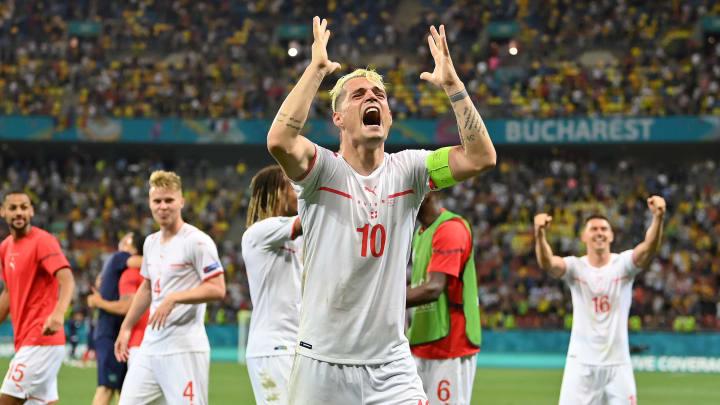 Xhaka foi o herói da classificação suíça diante da França