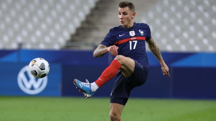 Lucas Digne est titulaire face à la Hongrie.