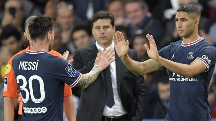 Achraf Hakimi surprised by Leo Messi's behaviour in PSG dressing room