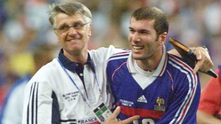 Zinedine Zidane, Aime Jacquet