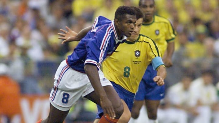 Dunga, Marcel Desailly