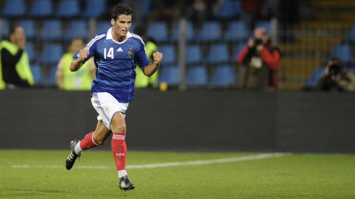 French midfielder Yohann Gourcuff jubila
