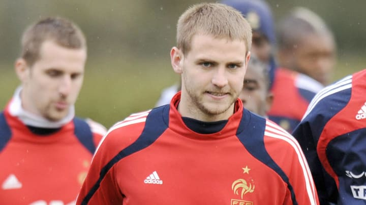 French national team midfielder Mathieu