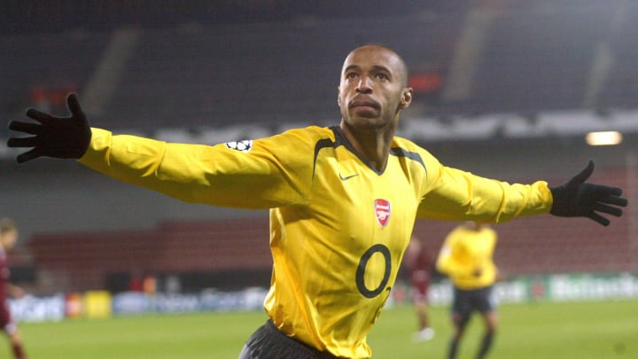 Frenchman Thierry Henry of FC Arsenal ce
