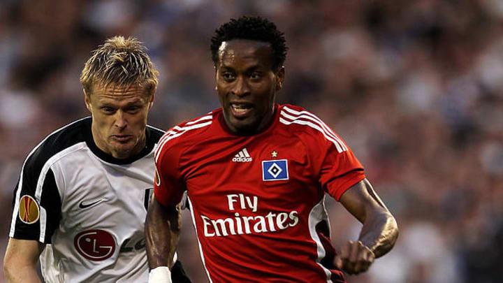 Stand mit dem HSV im Halbfinale der Europa League - Zé Roberto