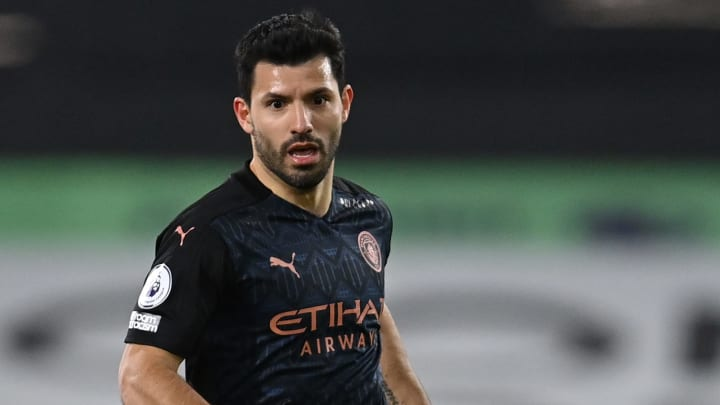 Sergio Aguero could be heading for Elland Road