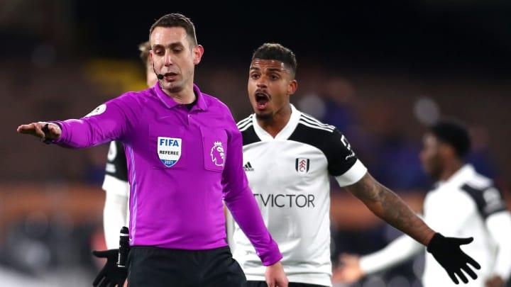 Fulham had a goal disallowed for handball against Tottenham